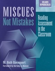 Miscues Not Mistakes 1st Edition 9780325003689 0325003688