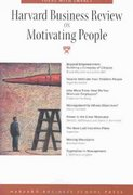 Harvard Business Review on Motivating People 0 9781591391326 1591391326
