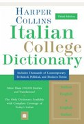 Italian College Dictionary 3rd edition 9780060749088 0060749083