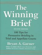 The Winning Brief 2nd edition 9780195170757 019517075X