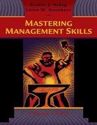 Mastering Management Skills 1st edition 9780324259193 0324259190