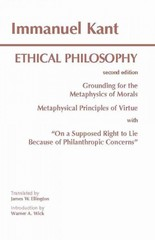 Ethical Philosophy 2nd edition 9780872203204 0872203204