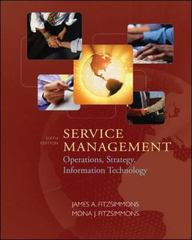 Service Management: Operations, Strategy, Information Technology w/Student CD 6th Edition 9780077228491 0077228499