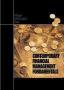 Contemporary Financial Management Fundamentals with Thomson ONE 1st edition 9780324015775 0324015771