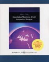 Essentials of Business Driven Information Systems 0 9780071287586 0071287582