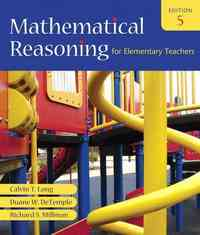 Mathematical Reasoning for Elementary Teachers 5th Edition 9780321460844 0321460847