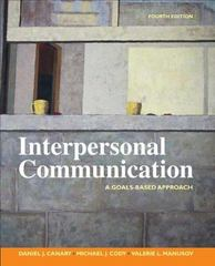 Interpersonal Communication 4th Edition 9780312451110 0312451113
