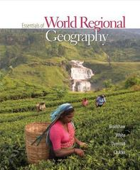 Essentials of World Regional Geography 1st Edition 9780073359380 0073359386