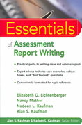 Essentials of Assessment Report Writing 1st edition 9780471394877 0471394874