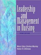 Leadership and Management in Nursing 3rd edition 9780130617774 0130617776