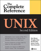 UNIX: The Complete Reference, Second Edition 2nd edition 9780072263367 0072263369