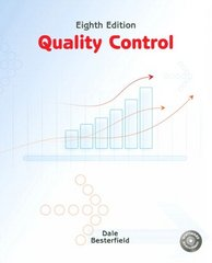 Quality Control 8th Edition 9780135000953 0135000955