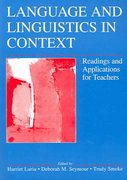 Language and Linguistics in Context 1st edition 9780805855005 0805855009