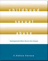 Childhood Sexual Abuse 1st Edition 9780534576455 0534576451