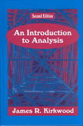 An Introduction to Analysis 2nd Edition 9781577662327 1577662326