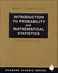Introduction to Probability and Mathematical Statistics 2nd edition 9780534380205 0534380204