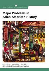 Major Problems in Asian American History 1st edition 9780618077342 0618077340