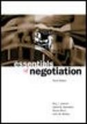 Essentials of Negotiation 3rd Edition 9780072545821 0072545828