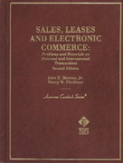 Sales, Leases and Electronic Commerce 2nd edition 9780314146083 0314146083