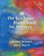 The Scribner Handbook for Writers 4th edition 9780321163899 0321163893