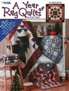 A Year of Rag Quilts 0 9781574863888 1574863886