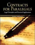 Contracts for Paralegals: Legal Principles and Practical Applications
