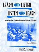 Learn to Listen, Listen to Learn 2nd edition 9780139194320 0139194320