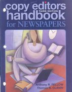 Copy Editor's Handbook for Newspapers 3rd edition 9780895827241 0895827247