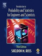 Introduction to Probability and Statistics for Engineers and Scientists 3rd edition 9780125980579 0125980574