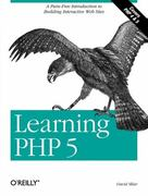Learning PHP 5 1st Edition 9780596005603 0596005601