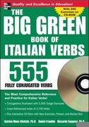 The Big Green Book of Italian Verbs (Book w/CD-ROM) 1st edition 9780071487610 0071487611