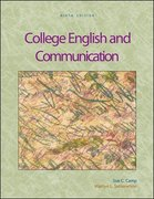 College English and Communication with OLC Premium Content Card 9th edition 9780073317939 0073317934
