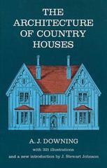 The Architecture of Country Houses 0 9780486220031 0486220036