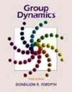 Group Dynamics 3rd Edition 9780534261481 0534261485