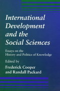 International Development and the Social Sciences 1st edition 9780520209572 0520209575