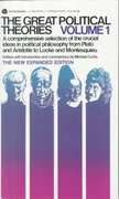 Great Political Theories 1st Edition 9780380007851 0380007851