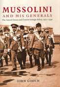 Mussolini and His Generals 0 9780521856027 0521856027