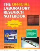 The Official Laboratory Research Notebook (100 Duplicate Sets) 1st edition 9780763705169 0763705160