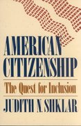 American Citizenship 1st Edition 9780674022164 0674022165