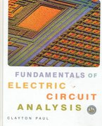 Fundamentals of Electric Circuit Analysis 1st Edition 9780471371953 0471371955