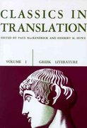 Classics in Translation, Volume I 0 9780299808952 0299808955