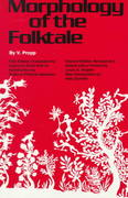 Morphology of the Folktale 2nd Edition 9780292783768 0292783760