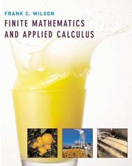 Finite Mathematics and Applied Calculus 1st Edition 9780618332915 061833291X