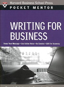 Writing for Business 0 9781422114728 1422114724