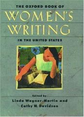The Oxford Book of Women's Writing in the United States 0 9780195132458 0195132459