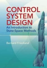 Control System Design 1st Edition 9780486442785 0486442780