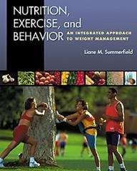 Nutrition, Exercise, and Behavior 1st edition 9780534541538 0534541534