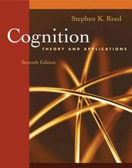 Cognition 7th Edition 9780495091561 0495091561