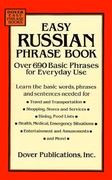 Easy Russian Phrase Book 0 9780486286693 048628669X