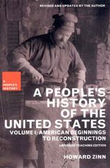 A People's History of the United States 1st edition 9781565847248 1565847245